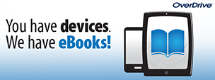 OverDrive eBooks Banner